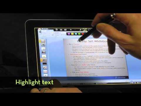 Video of Splashtop Whiteboard