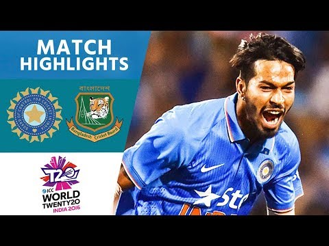 3 Wickets In Crazy Final Over!   India vs Bangladesh   ICC Men's #WT20 2016 - Highlights