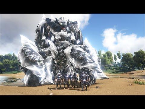 ARK SURVIVAL EVOLVED #52: Siêu Boss Robot King-kong và binh đoàn NPC - Thời lượng: 45:03.