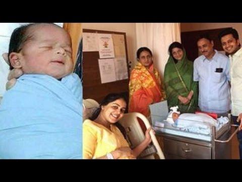 Riteish Deskhmukh & Genelia D'Souza's BABY BOY'S FIRST PHOTOS