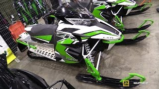 2. 2016 Arctic Cat ZR LXR 4000 129 Sled - Walkaround - 2015 Toronto ATV Show