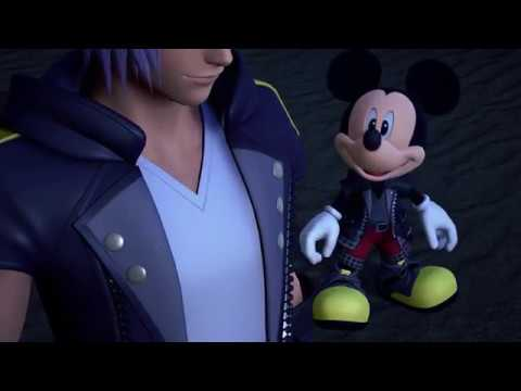 KINGDOM HEARTS 3 - UTADA HIKARU'S NEW SONG - OATH / DON'T THINK TWICE (Japanese) - PS4 TRAILER 2018! (видео)