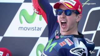 Lorenzo crowned 2015 MotoGP™ Champion!