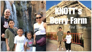 First Time at Knott's Berry Farm - VLOG #156