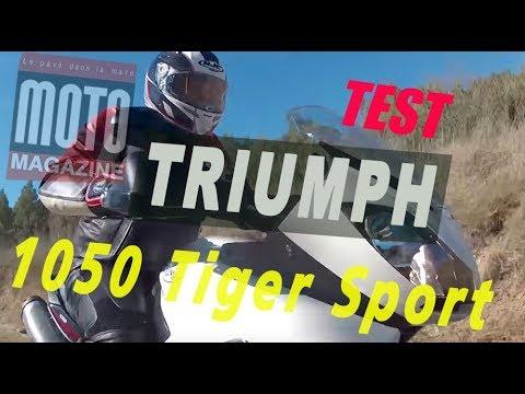 Essai Triumph 1050 Tiger Sport : le sport en chaussons