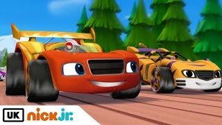 Blaze and the Monster Machines | Race to Eagle Rock | Nick Jr. UK