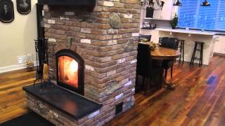 Masonry Heater Dry Stacked