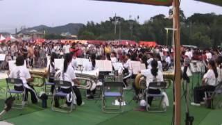 羽黒H28夏祭り1・南部中吹奏楽演奏