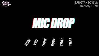 Video [VIETSUB + KARA] MIC DROP - BTS MP3, 3GP, MP4, WEBM, AVI, FLV Agustus 2018