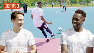 Video Cage Football Challenge vs Danny Welbeck! | Timbsy vs the World Tango League Special MP3, 3GP, MP4, WEBM, AVI, FLV Desember 2018