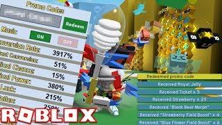 NEW CODE + 40 BEES!!!! | Bee Swarm Simulator | ROBLOX