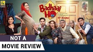 Video Badhaai Ho | Not A Movie Review | Ayushmann Khurrana | Sucharita Tyagi | Film Companion MP3, 3GP, MP4, WEBM, AVI, FLV April 2019