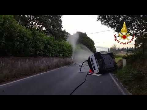 INCIDENTE E FUGA DI GAS A CARMIGNANO