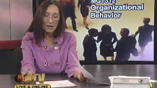 MGT312  Organizational Behavior  Session One  01/12/10