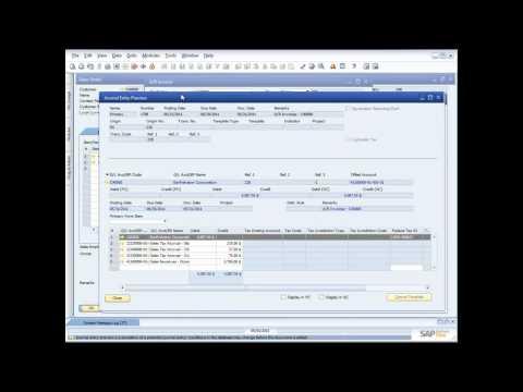 Demonstrating Sales Order Management in SAP Business One 8.8