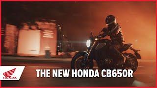 Honda CB650R - Il video