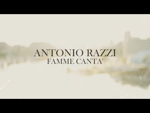 antonio razzi - famme cantà (official music video)
