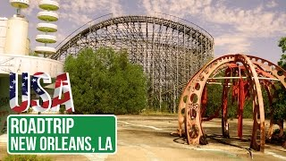 New Orleans (LA) United States  City pictures : Abandoned Amusement Park, New Orleans LA - United States of Adventure - Ep. 1