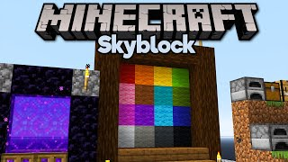 Custom Skyblock Advancements! • Minecraft 1.15 Skyblock (Tutorial Let's Play) [Part 24]