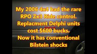 GM Z55 Autoride, ZW7 Smooth Ride, ZX3 Ride Control conversion to by Louisiana Cajun Recipes
