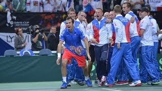 Almagro Spain  City pictures : Stepanek v Almagro Czech Republic 3-2 Spain - Davis Cup Final Official Highlights