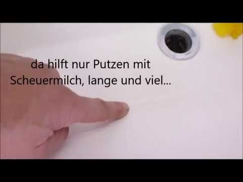 Aufklärung: Cremeseife im Stück vom Discounter und Ablagerungen im Waschbecken