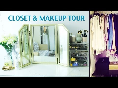 updated - ever wanted to see where the action happens? take a peek in my closet and makeup room...Thumbs up if you likey xxxxxxx CHECK OUT MY LINKS BELOW!!! MY BLOG: h...