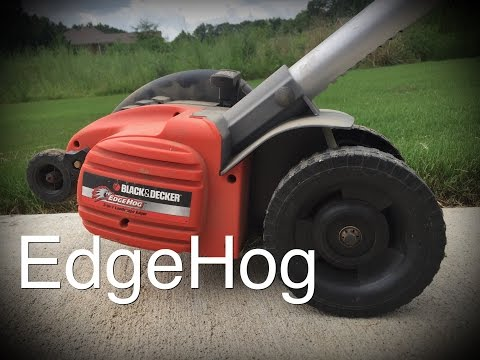 Black and Decker EdgeHog edger.. \