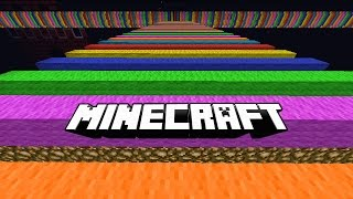 Minecraft ULTIMATE RAINBOW ROAD PARKOUR with Vikkstar & Lachlan (Minecraft Parkour)