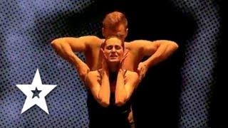 Dancers Hera Alexandra Zaulet and Marius Moldovan perform their final dance routine for the judges. Footage from Românii au talent final 2017. Subscribe to R...