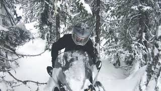 9. Making and breaking trails on the Ski-Doo Skandic SWT 900 ACE