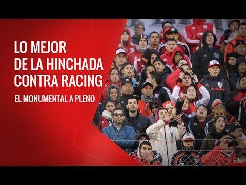 Lo mejor de la hinchada contra Racing - Los Borrachos del Tablón - River Plate - Argentina - América del Sur