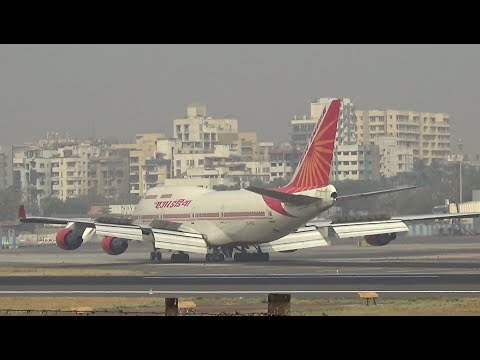 Video Big Jets coming in to rest at Mumbai International Airport download in MP3, 3GP, MP4, WEBM, AVI, FLV January 2017