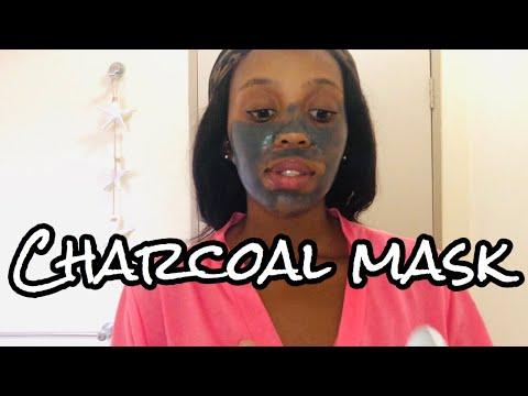 Charcoal and black sugar mud mask review
