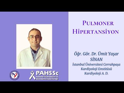 Öğr. Gör. Dr. Ümit Yaşar SİNAN - Pulmoner Arteriyel Hipertansiyon - 2020.10.15