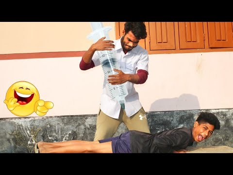 Whatsapp funny videos _verry injection comedy video stupid boys_new doctor funny videos 2021_Ep_ 62