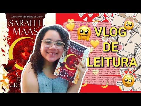 Vlog De Leitura: Lendo Cidade Da Lua Crescente (Casa De Terra E Sangue)
