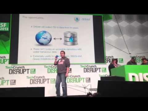 Driblet at TechCrunch Disrupt Hackathon 2013