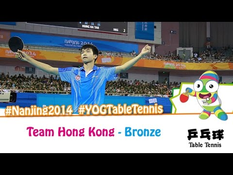 #Nanjing2014 Selfie Interview – Hong Kong (Bronze medal match)