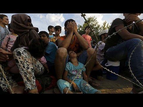 Σκόπια: Ένταση και επεισόδια μεταξύ συνοριοφυλάκων και μεταναστών