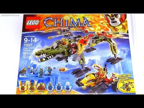 Vidéo LEGO Chima 70227 : Le sauvetage du Roi Crominus