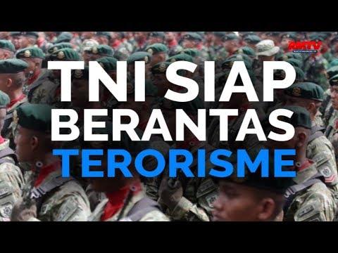 TNI Siap Berantas Terorisme
