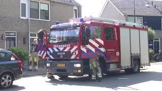 Brandweer rukt uit naar Blauwe Reiger