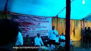 Selamat Datang Bapak Presiden RI dan Menteri Desa di Kabupaten Gowa
