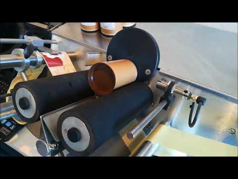 ELVO CODING - Etikettiermaschine MICHELLE 2 Etikettieren von Pappdosen mit 2 Etiektten