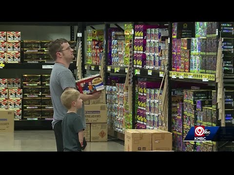 Fireworks sales increase as interest in home displays grow