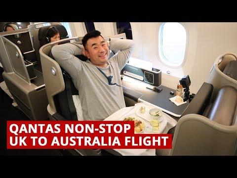 Qantas B787 NON-STOP UK to AUSTRALIA Flight_Legjobb videók: Utazás, itt nem kell repülőjegy