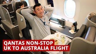 Video QANTAS B787 NON-STOP UK to AUSTRALIA Flight MP3, 3GP, MP4, WEBM, AVI, FLV September 2018
