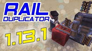 MINECRAFT | Tutorial | Rail Duplicator [1.13.1, 1.13.2, 1.14, 1.15 Snapshots]