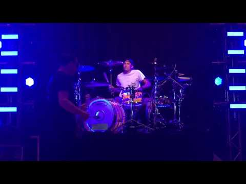 Me playing Wishing Well with Blink-182 Springfield, Mo 4-23-17